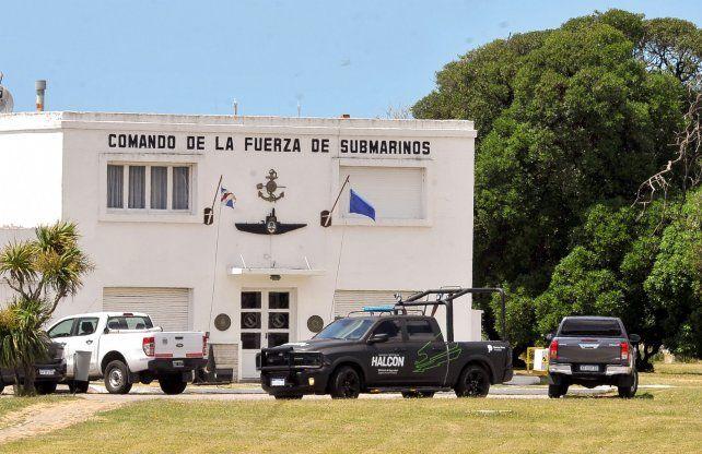 Ayer al mediodía cuando las fuerzas federales se encontraban dentro de la sede militar de la Armada.