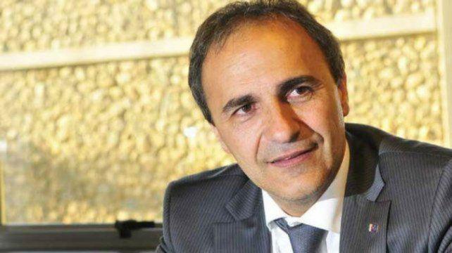 Merlo es diputado desde 2006. Vino a Rosario a lanzar la campaña.