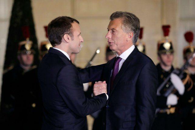 Detalle. Macron no cedió terreno sobre la agroindustria.