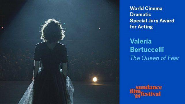Valeria Bertuccelli ganó como mejor actriz en Sundance