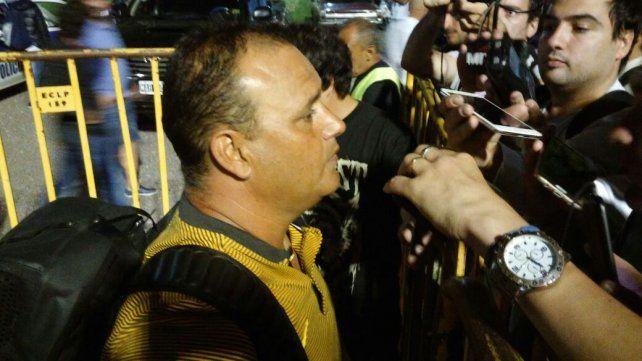Leo Fernández no puso excusas por la derrota ante el Lobo