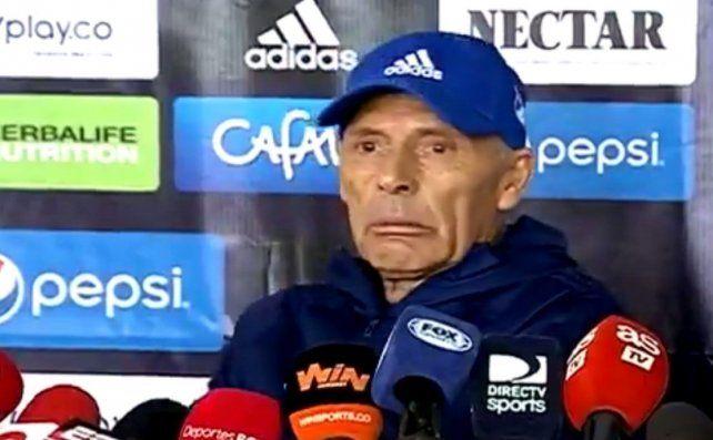 Emocionado. Russo soltó algunas lágrimas en su regreso a Millonarios de Colombia.
