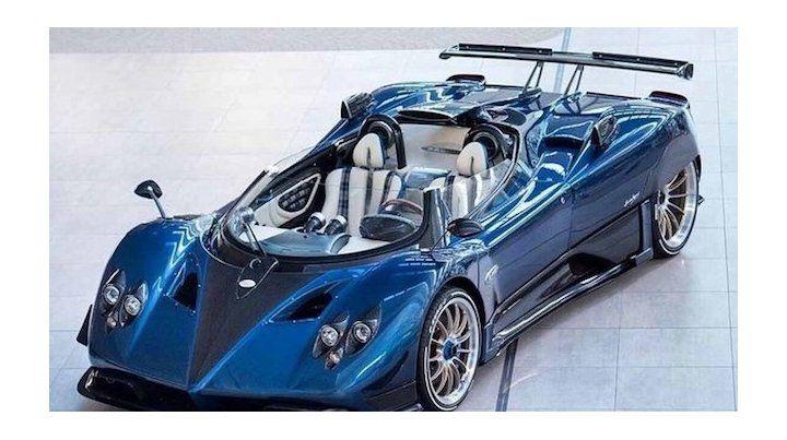 El Zonda HP Brachetta se vendió por la friolera de 15 millones de euros.