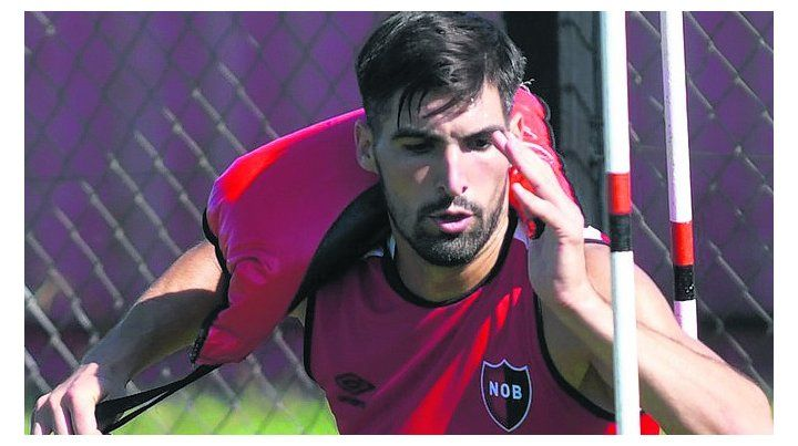 Listo para jugar. Fernando Evangelista realizó la pretemporada en Boca.