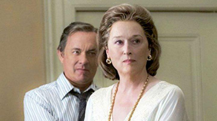 Meryl Streep interpreta a Katharine Graham