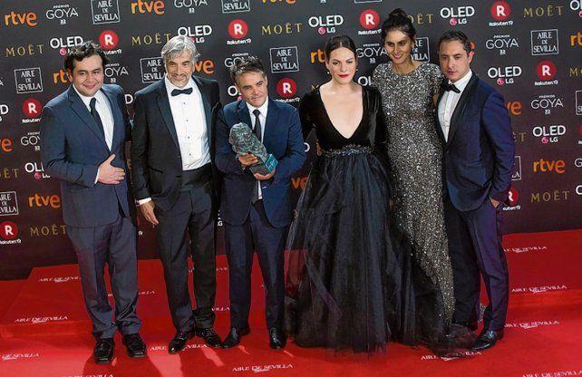 Mejor filme iberoamericano. El equipo chileno de Una mujer fantástica