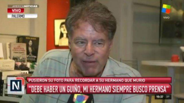 Mario Pasik se tomó con humor su muerte en los premios Carlos