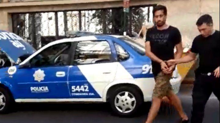 Un video muestra cómo Lucho Paladini es increpado