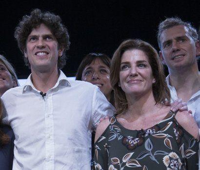 en política. La periodista Débora Pérez Volpin