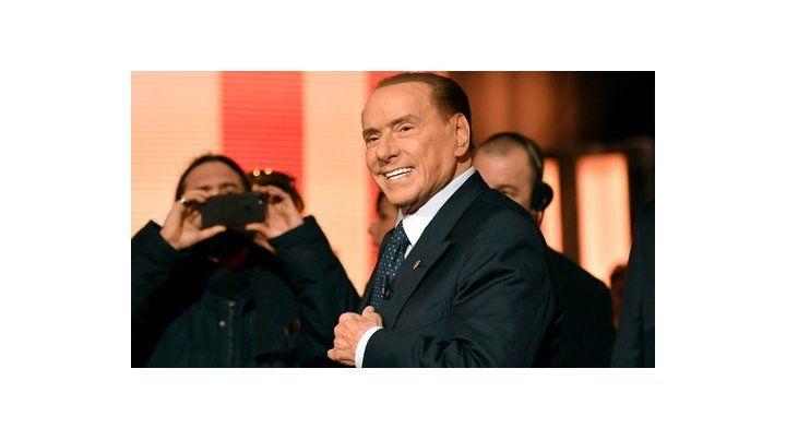 personaje. El ex primer ministro Silvio Berlusconi.