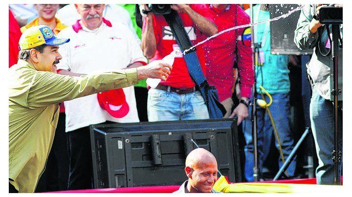 acto. El presidente Nicolás Maduro