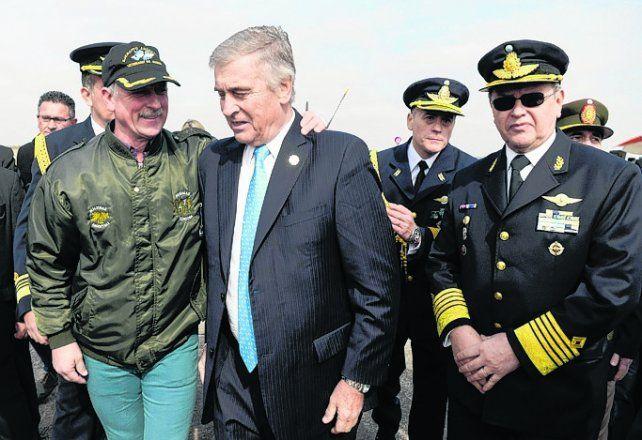 la misión. Aguad trazó un nuevo escenario para las Fuerzas Armadas.