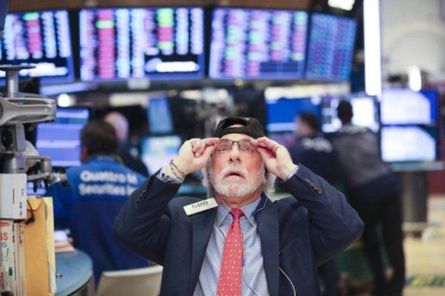 semana negra.Wall Street tuvo un lunes y un jueves con fuertes caídas.
