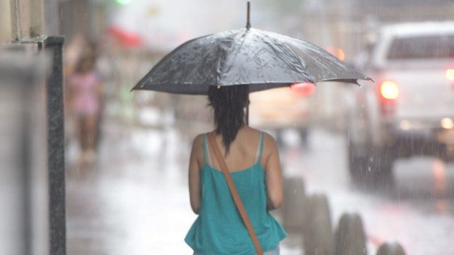El Servicio Meteorológico anuncia fuertes tormentas para hoy.