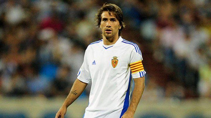 En 2011. Ponzio vistió la camiseta de Zaragoza en el partido de la discordia.