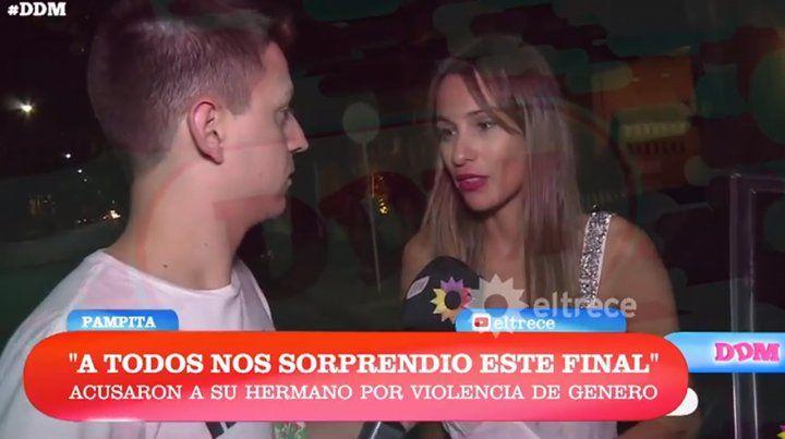 Pampita habló por primera vez sobre el escándalo que rodea a su hermano
