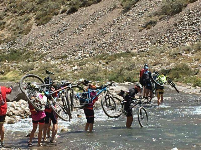 Arroyos. Sólo paraban para cruzar los cursos de agua.