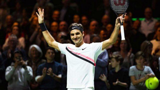 Federer se coronó en Rotterdam.