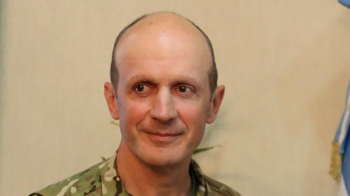 Aguad pone el funciones al nuevo jefe del Ejército, Claudio Pasqualini