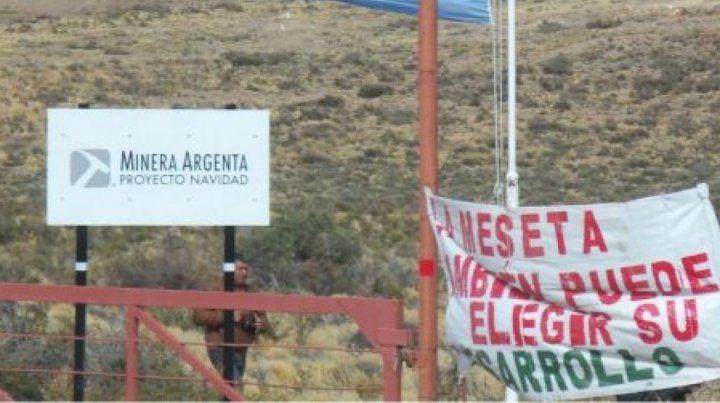 Polémica. La mina es resistida por los pobladores patagónicos.
