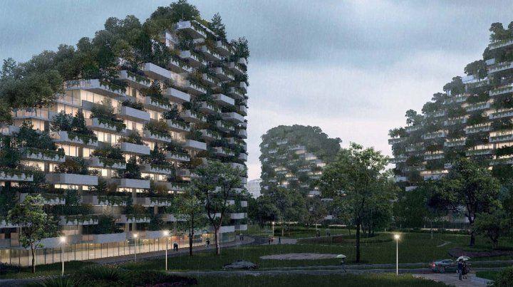 China construye la primera ciudad forestal del mundo