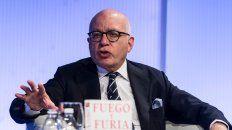 Lapidario. Wolff durante la presentación de la edición española de su libro, ayer en Madrid.