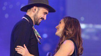 Abel Pintos y Soledad, juntos por Sandro