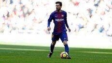 La fija. Leo Messi estará desde el inicio ante Chelsea, equipo al que nunca le convirtió.