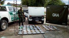Secuestran 73 de kilos de cocaína que tenían a Rosario como destino