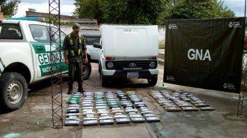 Secuestran 73 de kilos de cocaína para Rosario