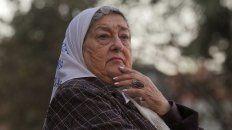 La presidenta de Madres de Plaza de Mayo, Hebe de Bonafini.