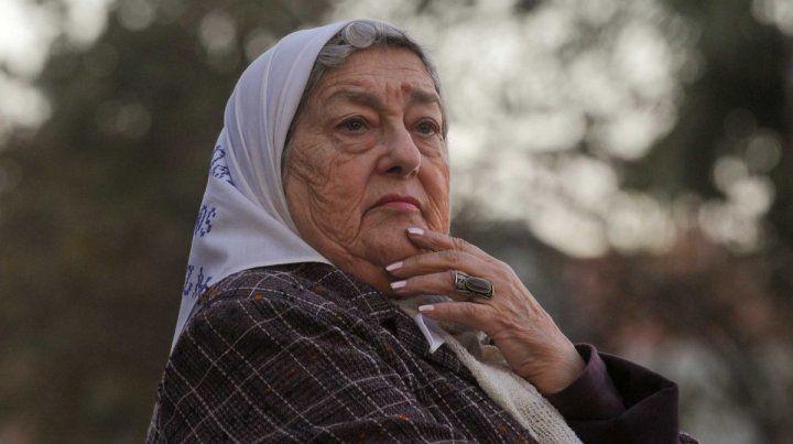 La presidenta de Madres de Plaza de Mayo