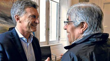 Hugo Moyano dijo que aceptaría tener una reunión con Macri