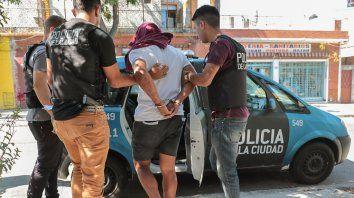 El hermano de El Turco García fue detenido hoy por efectivos policiales.