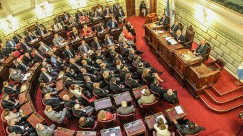 Recinto. Para que avance la idea, la Legislatura provincial deberá declarar la necesidad de la reforma.