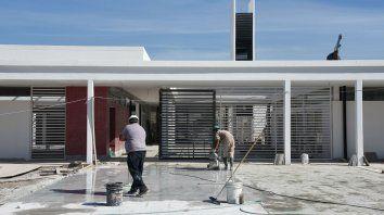En obra. Entre los trabajos más importantes, se destaca la construcción del jardín de infantes en Zona Cero.