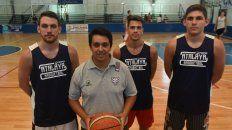Integrantes del equipo de barrio República de la Sexta.