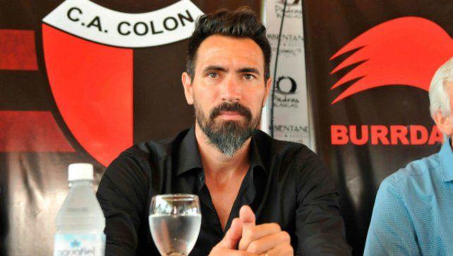 Domínguez. El entrenador del sabalero.