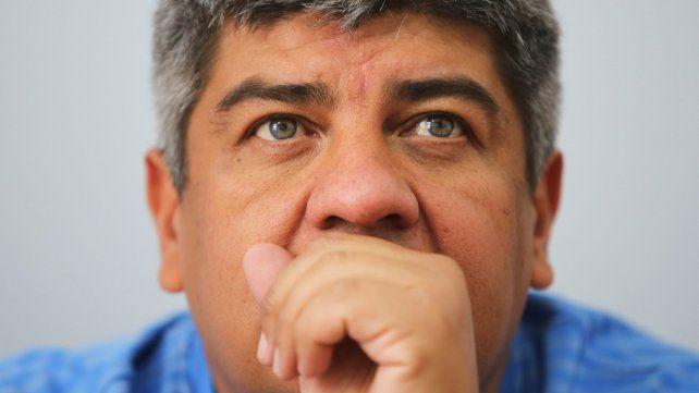 Enojado. Pablo Moyano respondió con crudeza a las acusaciones de Lilita. Tiene protección mediática