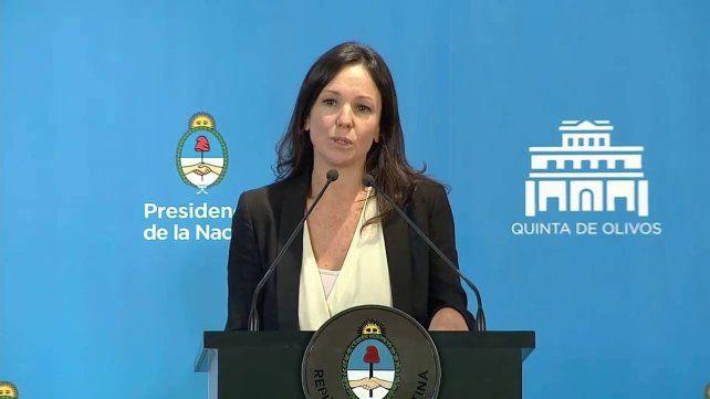 Ministra Carolina Stanley.