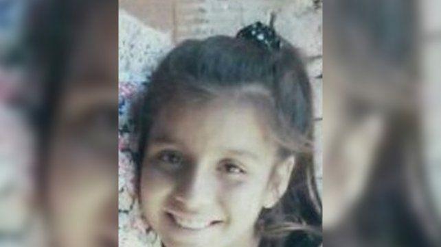 Camila Borda. La niña de 11 años.