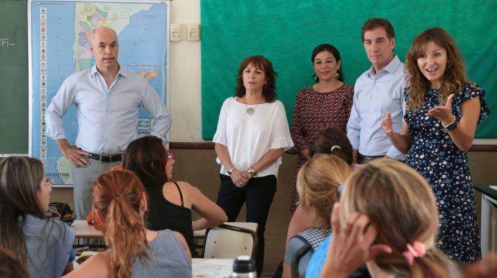 Rodríguez Larreta. Cierran sedes del FinEs y cerraron el Plan Conestar Igualdad como medidas del ajuste.