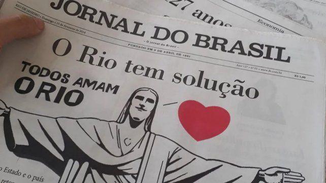 El Jornal do Brasil vuelve a salir luego de ocho años
