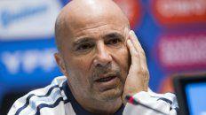 La actualidad (el presente) va a tener mucho que ver de cara al Mundial, dijo Sampaoli.