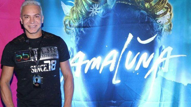 Flavio Mendoza vino a Rosario para no perderse Amaluna