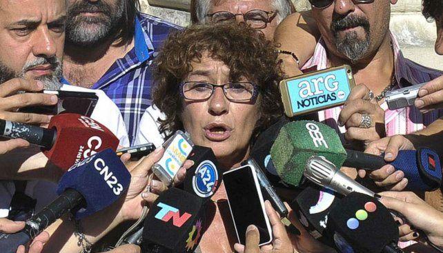 """La titular de Amsafé, Sonia Alesso, dijo que el aumento propuesto es """"insuficiente""""."""