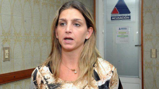 Fiscal. Marisol Fabbro lleva adelante la acusación contra Alejandro Mercado y ayer se explayó con las pruebas.