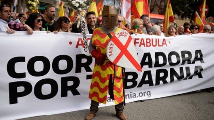 en broma. Los tabarneses expresan el malestar de una parte sustancial de los catalanes con el separatismo.