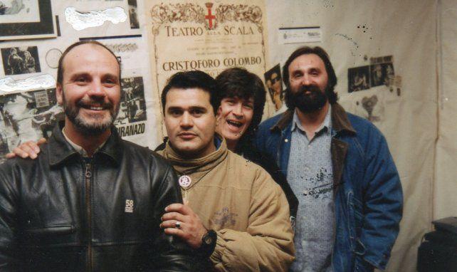 Omar López, José María Blanc, Marcelo Sali y Jorge Antún.