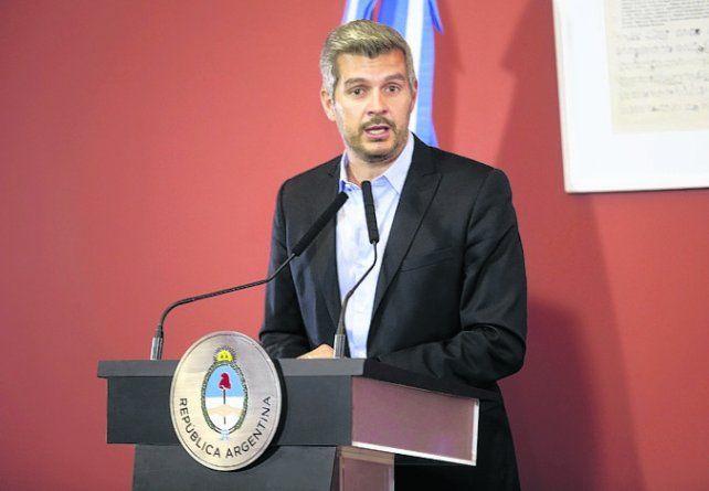 jefe de Gabinete. Marcos Peña.